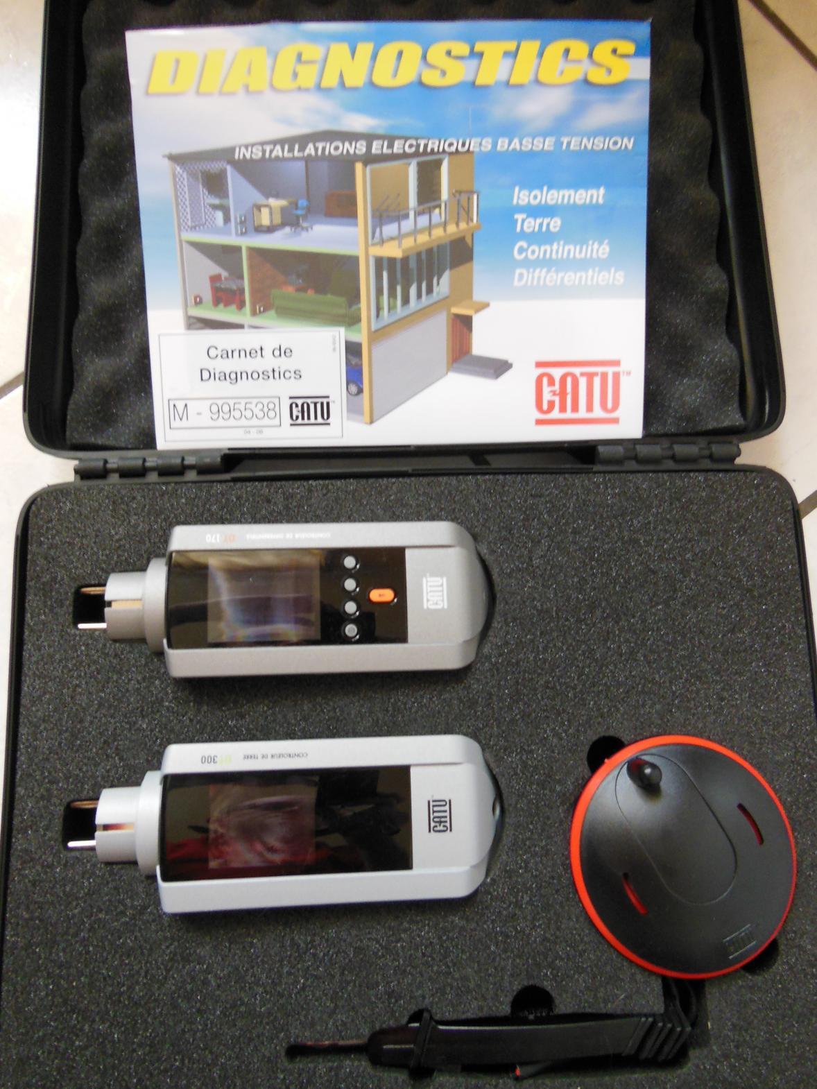 électricité générale à Montluçon : outils de diagnostic électrique
