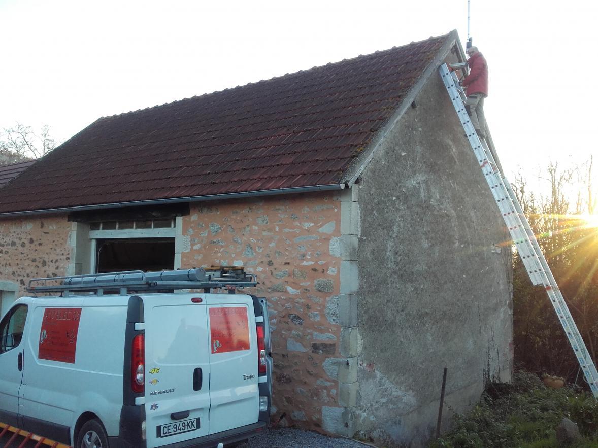 antenniste à Montluçon et sa région: pose d'antenne râteau TNT